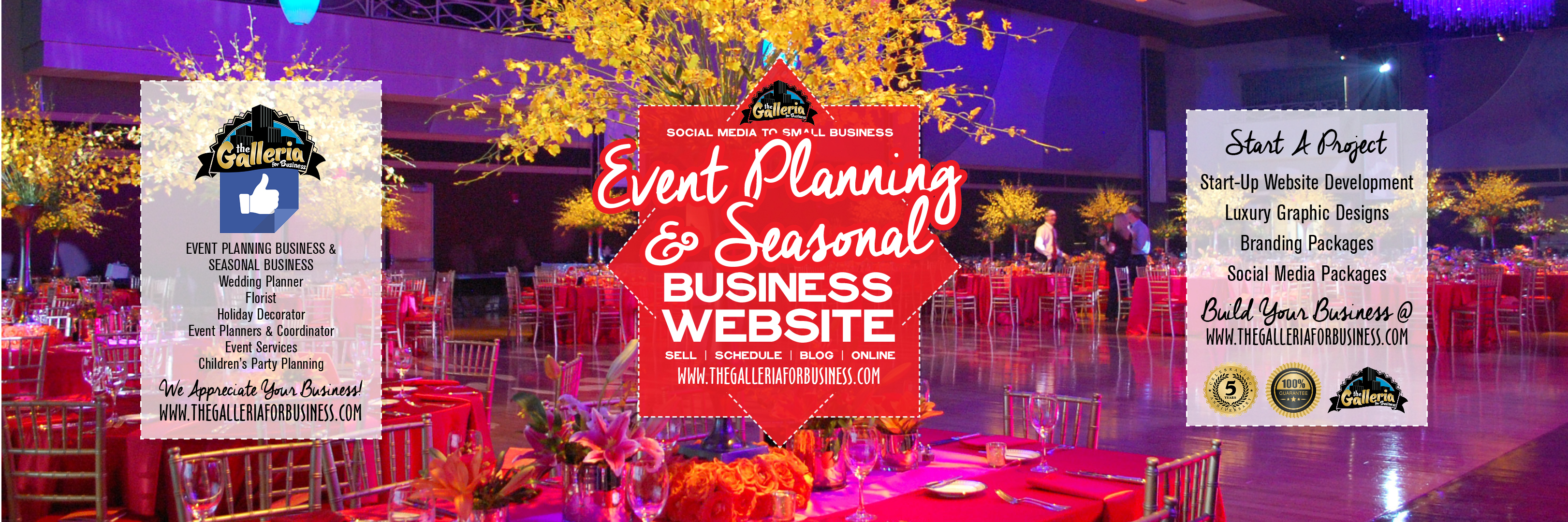 Event Planning Seasonal Business